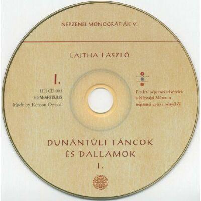Lajtha László: Dunántúli táncok és dallamok I-II.